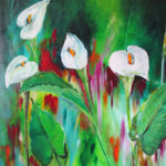 Beb Hearn - 'Arum Lillies'