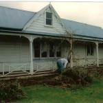 Reyburn House 1998; Preparations begin for a major renovation project